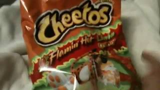 Food and Drink Review #248 Flaming Hot Limon Hot Cheetos