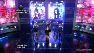 miss A - Bad Girl Good Girl (Debut stage) - M Countdown