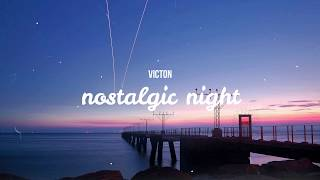 VICTON(빅톤) - nostalgic night(그리운 밤) / Indo Lyrics
