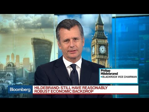 BlackRock's Hildebrand Sees Trade as Biggest Risk to Global Economy