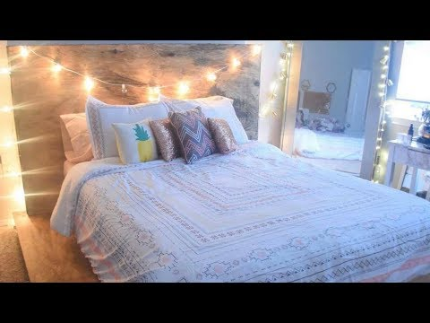 DIY PALLET PLATFORM BED|PINTEREST TUMBLR INSPIRED