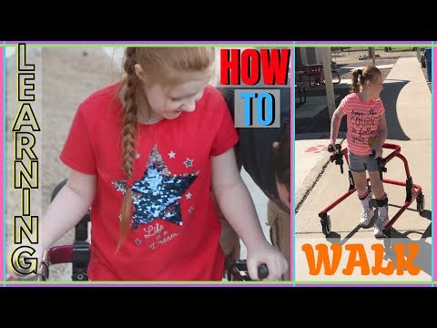 Handicapped Child FINALLY Walking? | Recent Changes!