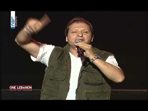 One Lebanon Concert , Nizar Francis speech
