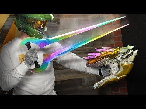 Halo Energy Sword Destruction (IRL)