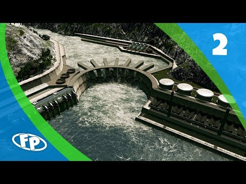 Cities Skylines: Port Aleutia - Part 2 - Custom Hydroelectric Power Plant