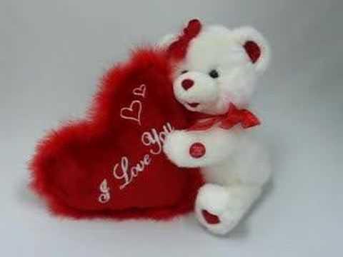 Musical Bear for Valentine's