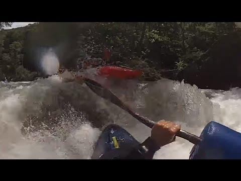Savage River Whitewater Kayaking Using Hi-N-Dry Rolling Aid - Dad's POV