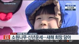 서울대공원서 다양한 설맞이 문화행사 / 연합뉴스TV (…