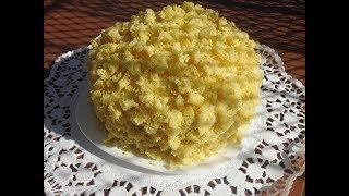 Tortë Mimosa 1 Ide për 8 Mars Festa e Gruas