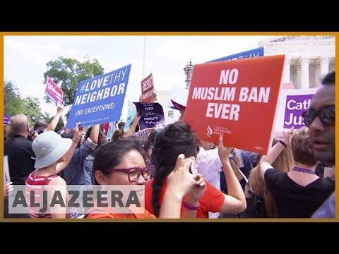 🇺🇸 Top US court backs Trump travel ban on Muslim-majority countries | Al Jazeera English