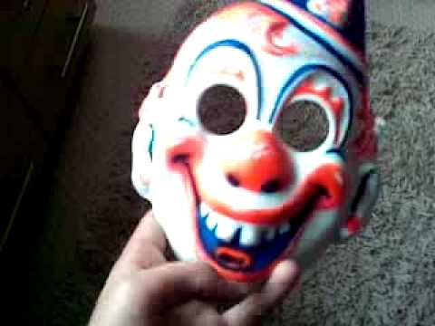 Halloween Clown Mask Michael Myers.Young Michael Myers Clown Mask