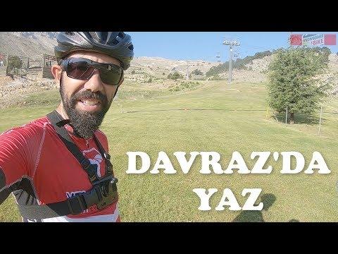 Davraz Kayak Merkezine Bisiklet Turu