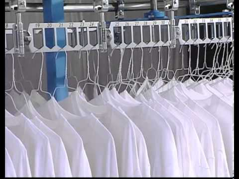 adac automated dry cleaning assembly conveyor by hmc solutions youtube. Black Bedroom Furniture Sets. Home Design Ideas