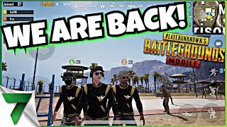 CUSTOM MATCHES! WE ARE BACK BABY!! | PUBG MOBILE