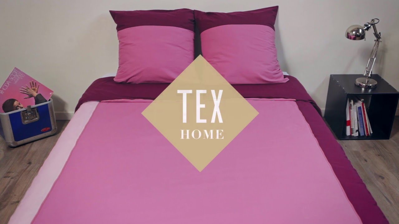 La housse de couette zipp e by tex youtube for Housse de couette beige 240x260