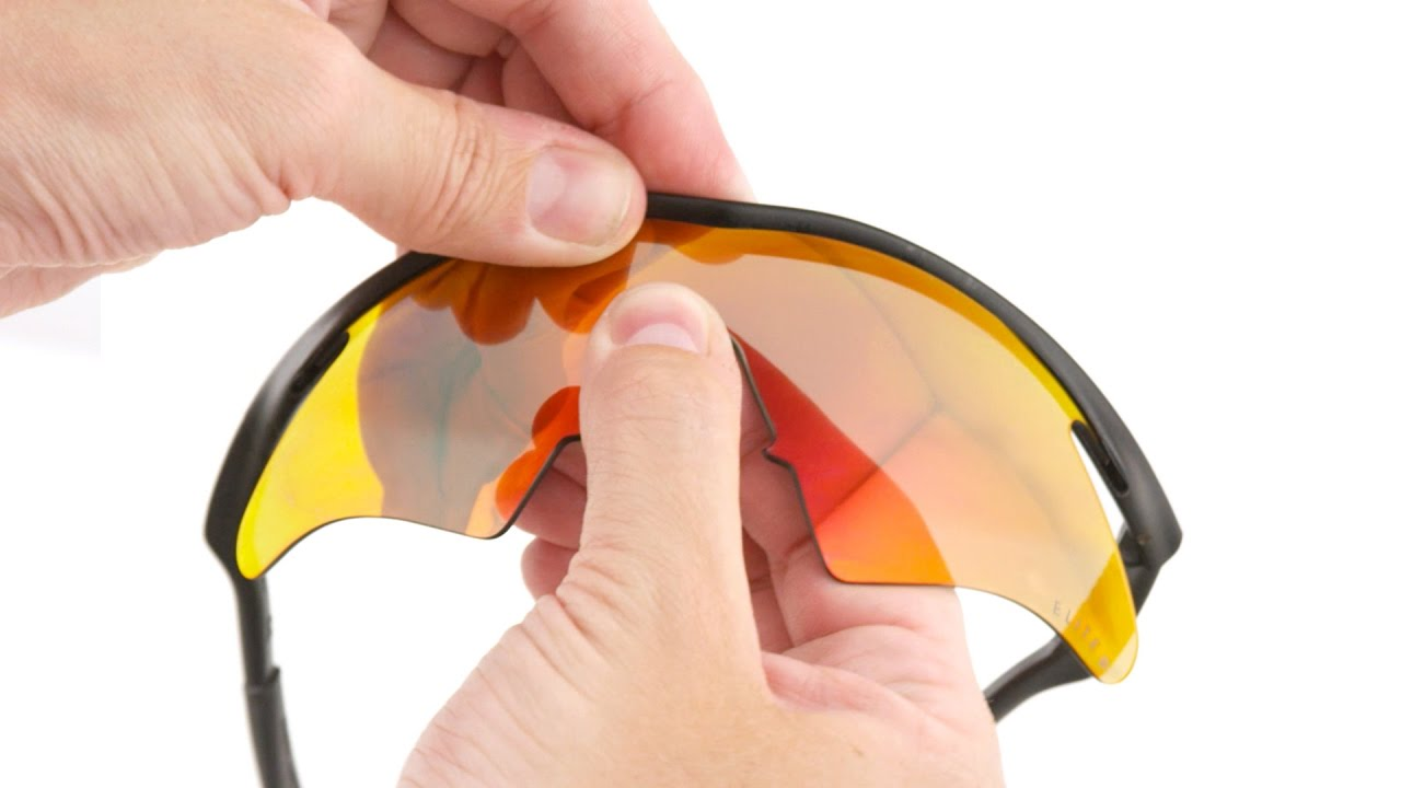 c863f70cdb2 How to Replace Lenses in Shield Sunglasses - YouTube