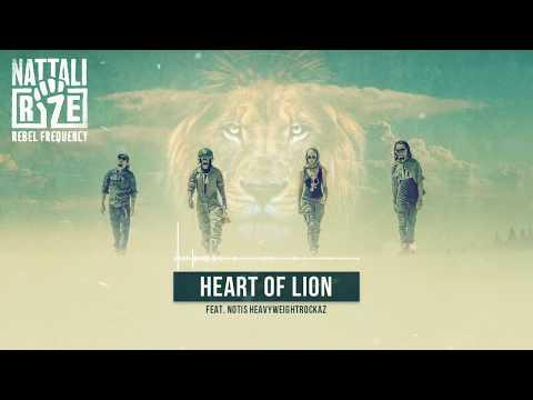 ✊ Nattali Rize & Notis Heavyweightrockaz - Heart Of A Lion [Official Lyrics Video]