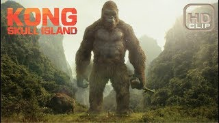Giant Sker Buffalo Scene | Kong Skull Island (2017) | Samdev Movieclips