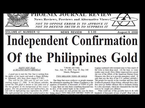 WEALTH for HUMANITY  (Ferdinand Marcos Gold)