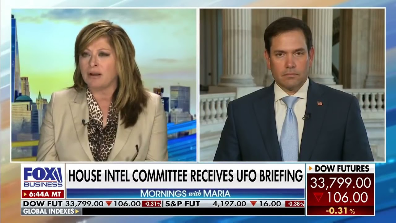 """New statements on UFO report by Sen. Marco Rubio """"They're late, the gotta hurry, it's due already"""""""