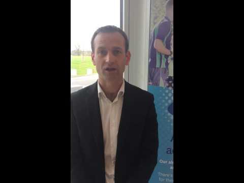 Dan Ashworth, Technical Director of the English FA celebrates PEG 100 Club