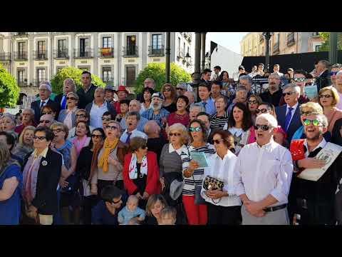 San Frutos 2017. Himno a Segovia 25/10/17