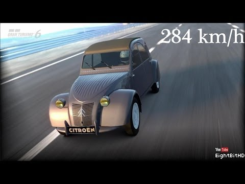 Gran Turismo 6 Citroën 2CV Type A '1954 - 212 km/h Top Speed