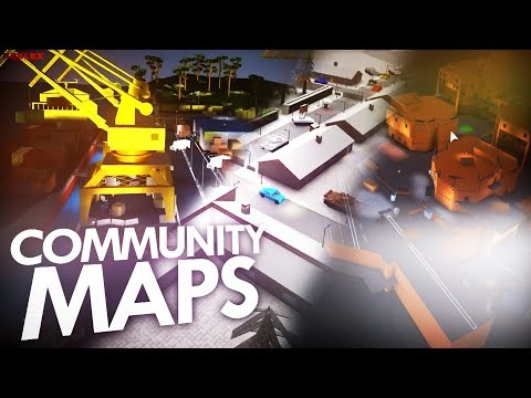 *NEW* COMMUNITY MAPS IN PHANTOM FORCES!? (ROBLOX)