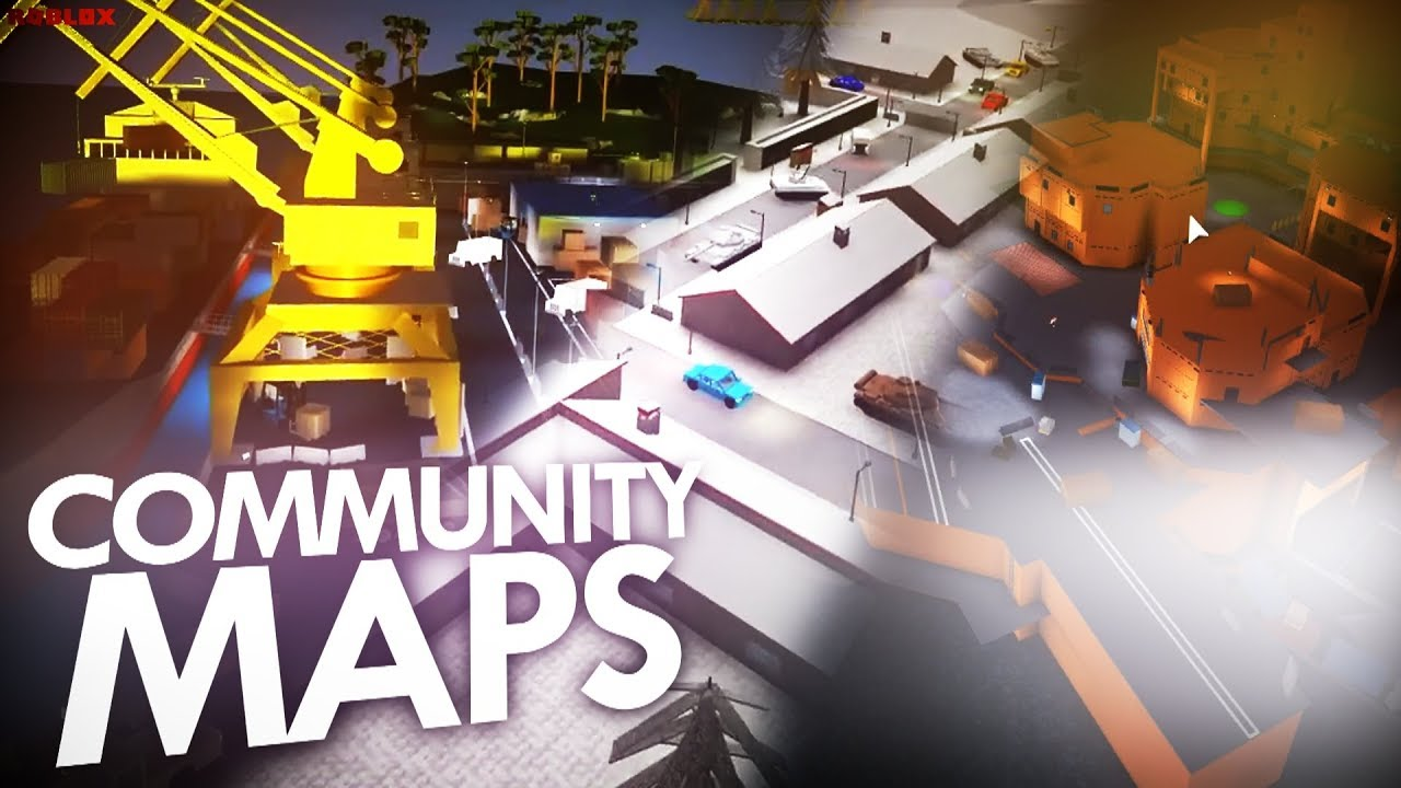 New Community Maps In Phantom Forces Roblox Youtube