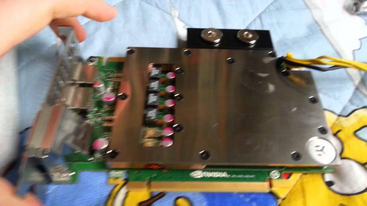 Quadro K5000 - EK Watercooling