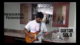 Nenjukkul Peidhidum | Guitar Solo | Ashwin Asokan | Harris Jeyaraj | Vaaranam Ayiram |