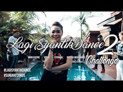 Lagi Syantik Dance Challenge by artis Suria Records (Version 2)