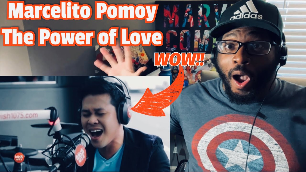 Marcelito Pomoy - The Power of Love (Celine Dion Cover) REACTION!!!!