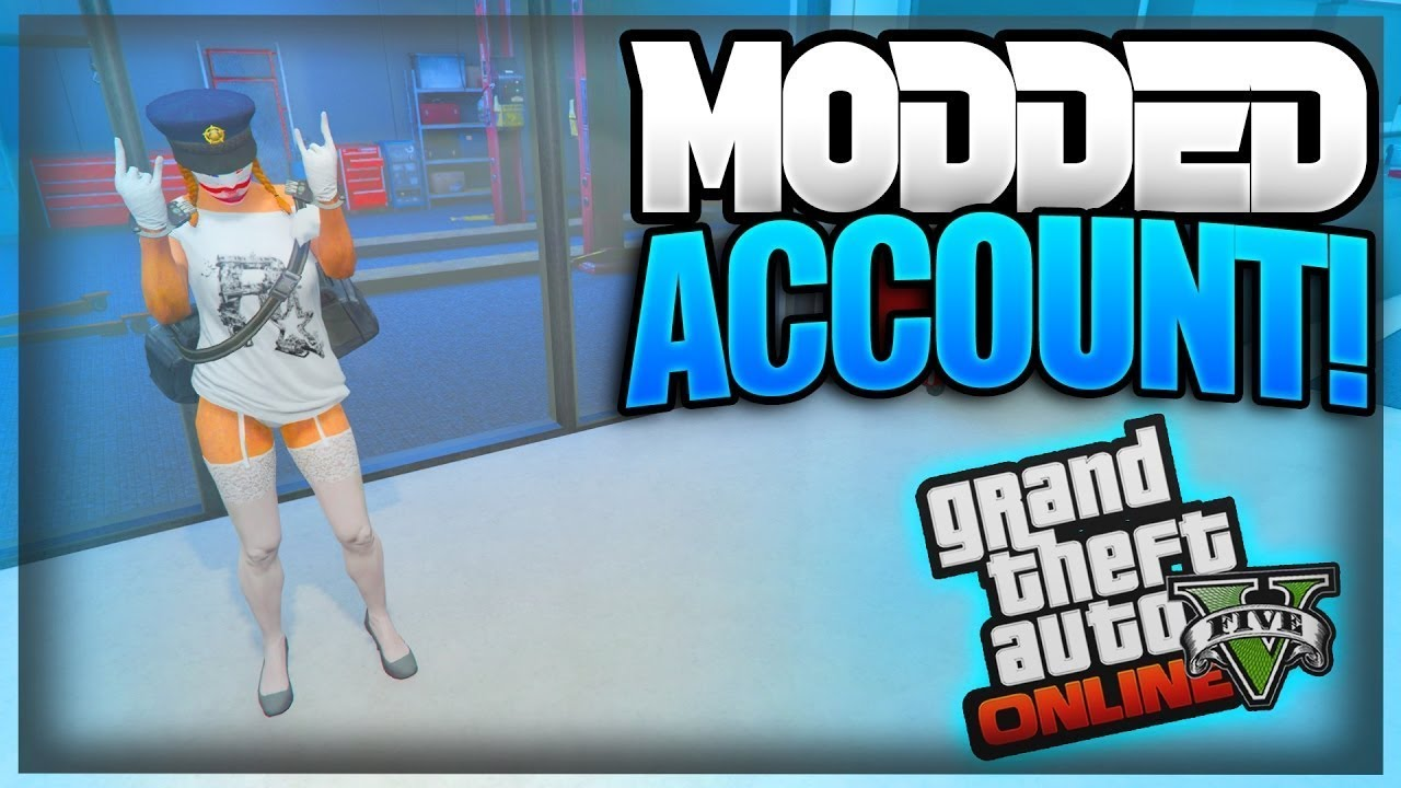 BUY GTA 5 PRE-MODDED ACCOUNTS (Best, Cheap, Reliable & INSTANT!)
