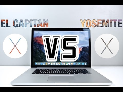 OS X El Capitan VS Yosemite Speed Test - Is It Faster?