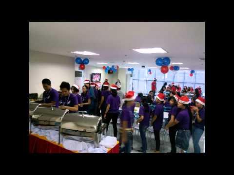 Christmas Party at Music 21 Plaza - Alabang Branch