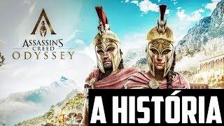 A HISTÓRIA DE ASSASSINS CREED: ODYSSEY - Enredo com Spoilers