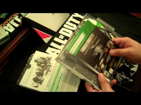 Game Unboxing of Xbox 360 Call of Duty®: Advanced Warfare Atlas Pro Edition