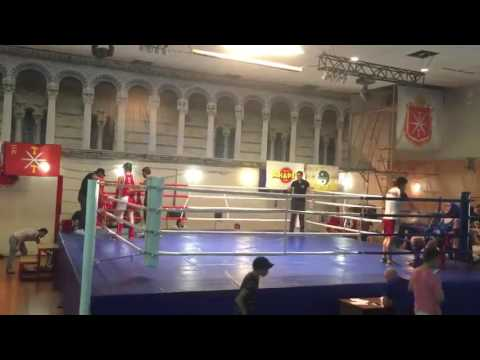 Osmanov Azamat ЧЕмпионат и Первенств Тульской области по тайскому боксу