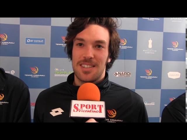 TENNIS - I giovani atleti della squadra di serie A dei Tennis Comunali Vicenza