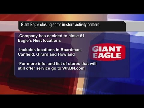 Giant Eagle Closing Childcare