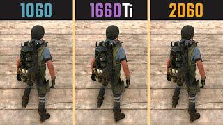 GTX 1060 vs. GTX 1660 Ti vs. RTX 2060