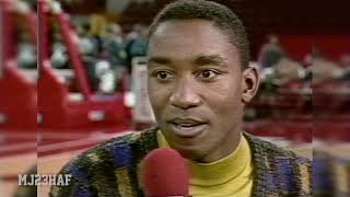 "Isiah Thomas Admitted the ""Leaving without Shaking Hands"" Act Was WRONG (1991.11.12)"
