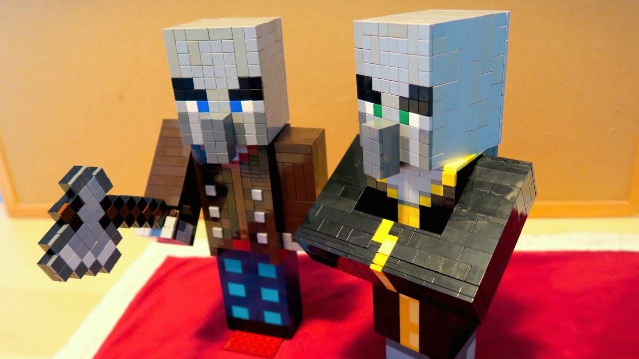 LEGO Vindicator and Evoker - Minecraft