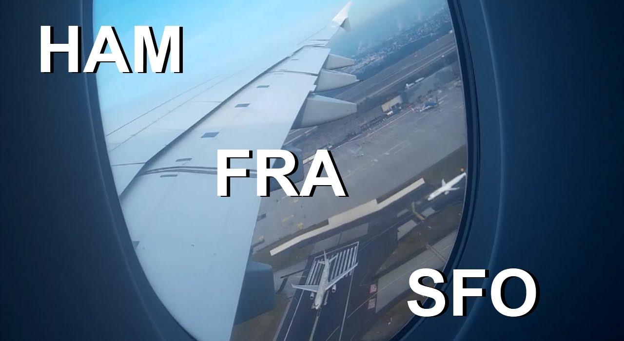 Mein Flug Nach Frankfurt