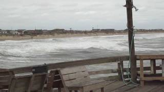 OBX - Nags Head Fishing Pier 9/16/11 During a Storm