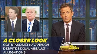 GOP Stands by Kavanaugh Despite Sexual A...