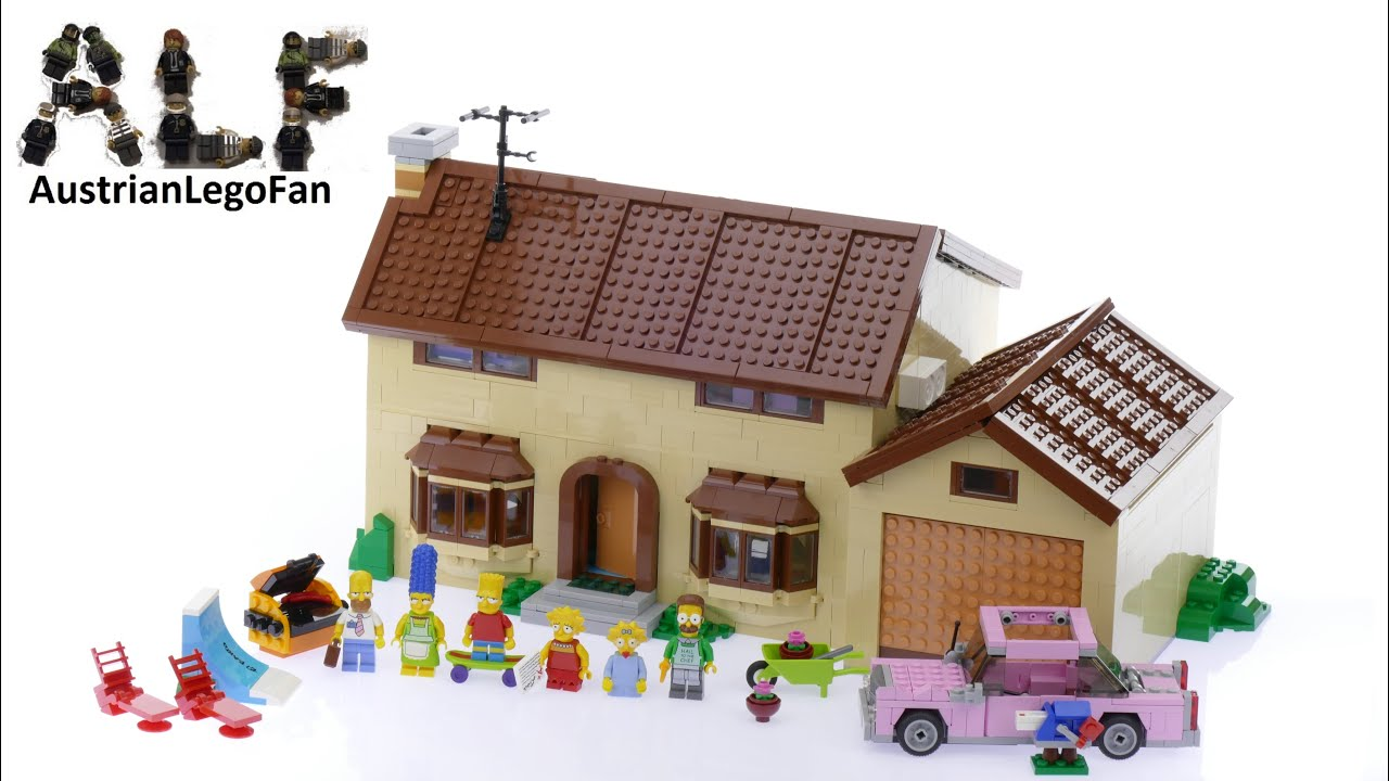 Lego Simpsons 71006 The Simpsons House - Lego Speed Build ...