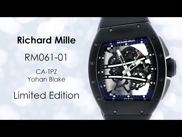 Richard Mille RM61-01 Yohan Blake Limited Edition Watches