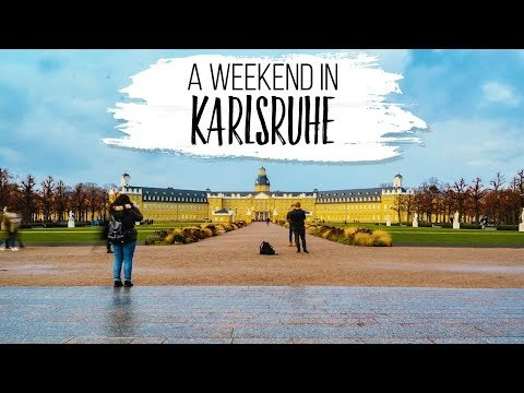A Weekend in Karlsruhe (Germany) in 4K - A Castle, Cat Cafe and more...